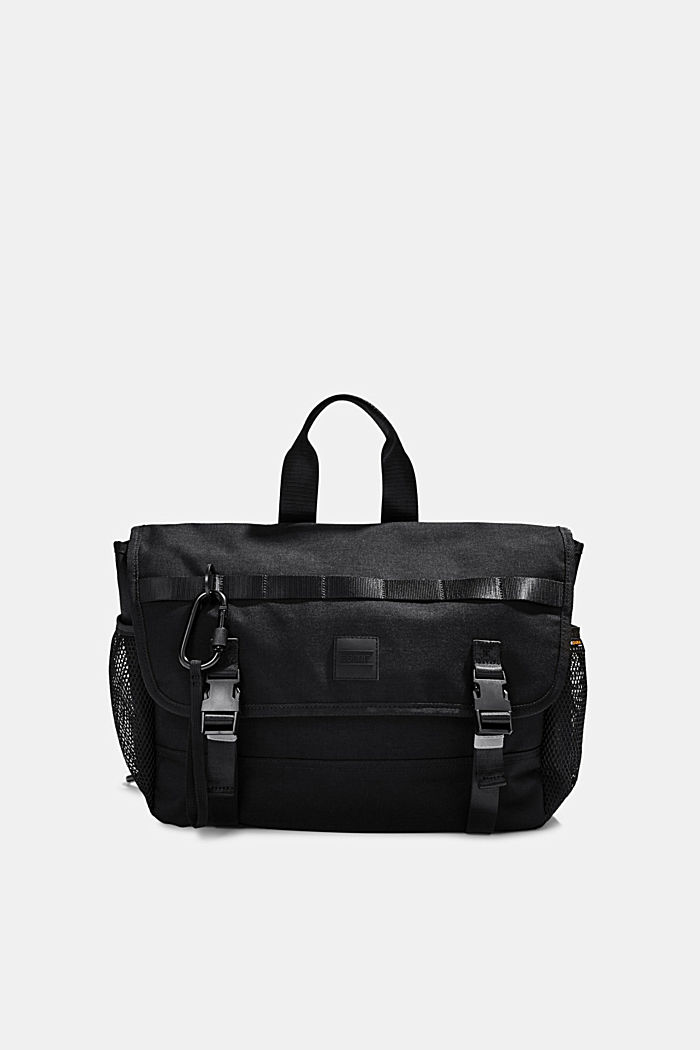#ReimagineFlexibility: Messenger Bag Laptopfach, BLACK, detail image number 0