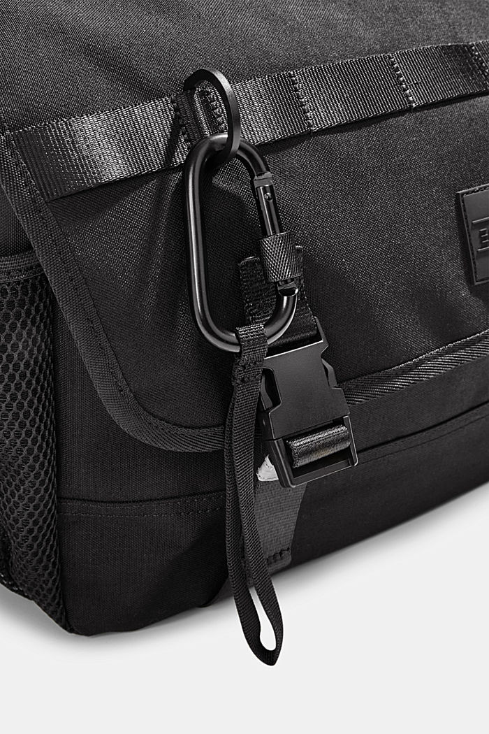 #ReimagineFlexibility: Messenger Bag Laptopfach, BLACK, detail image number 3