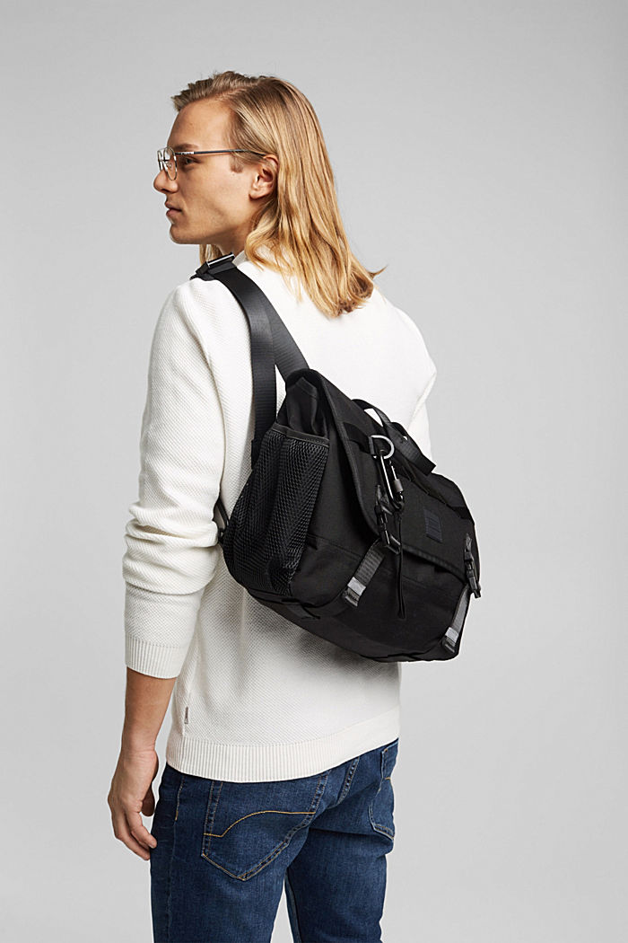 Messenger bag with a laptop compartment, CORDURA NYLON™
