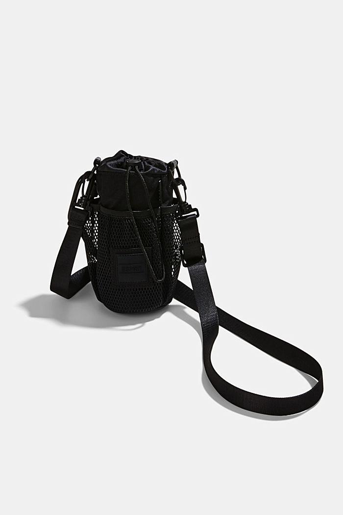 Drinking bottle bag made of CORDURA NYLON™, BLACK, detail image number 2