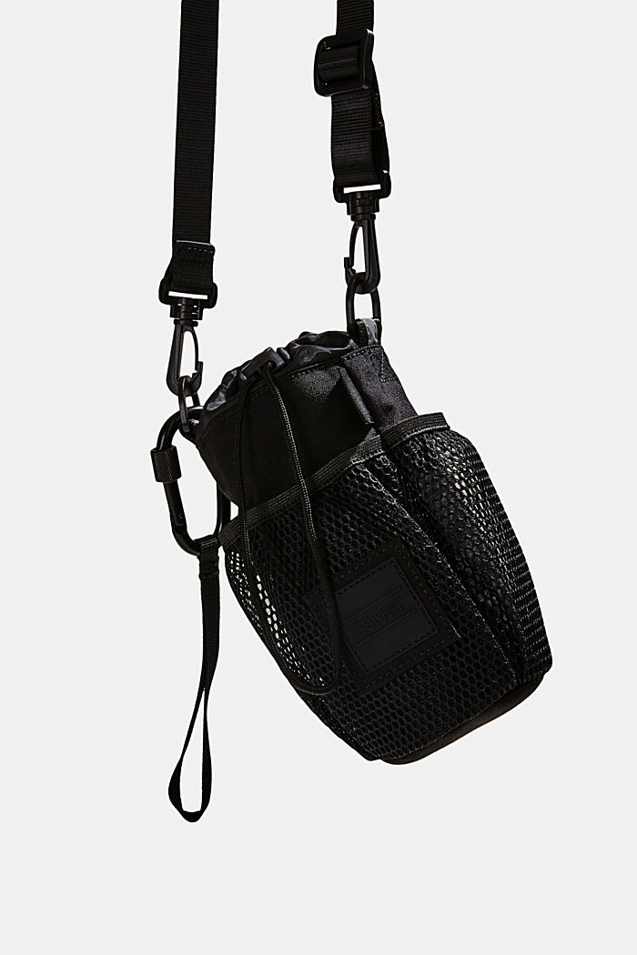 Drinking bottle bag made of CORDURA NYLON™, BLACK, detail image number 6