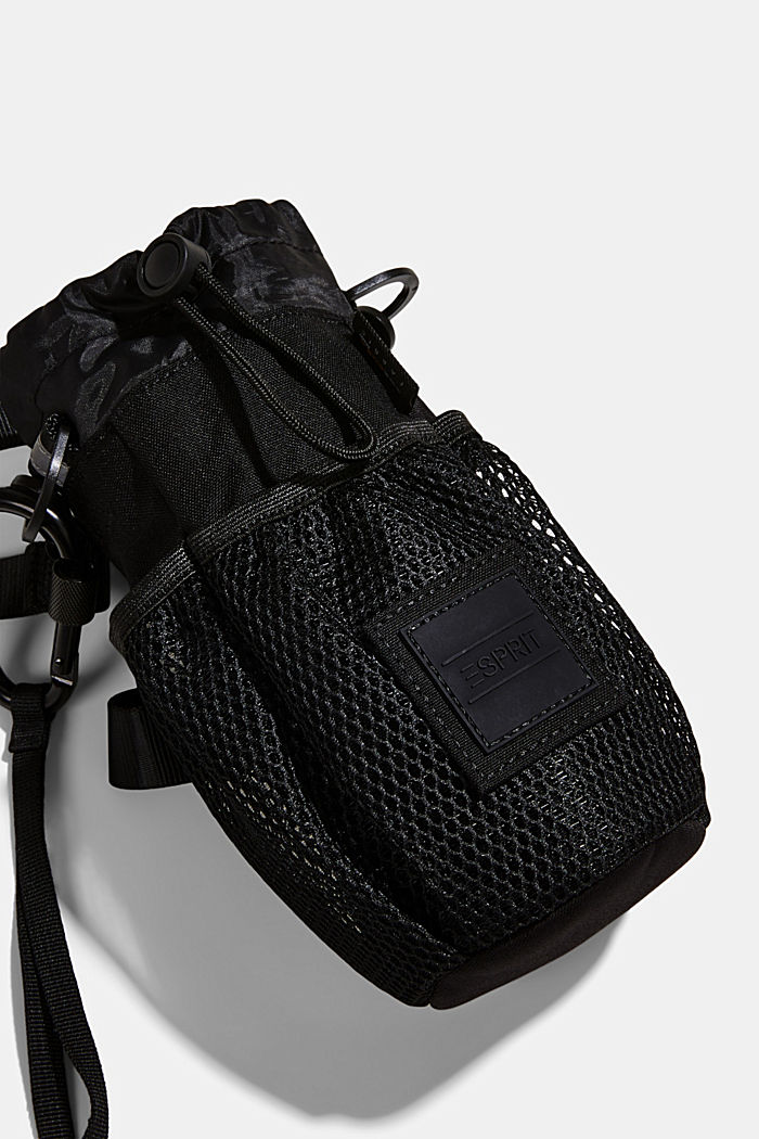 Drinking bottle bag made of CORDURA NYLON™, BLACK, detail image number 4