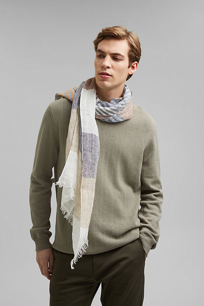 Shawls/Scarves, BEIGE, overview