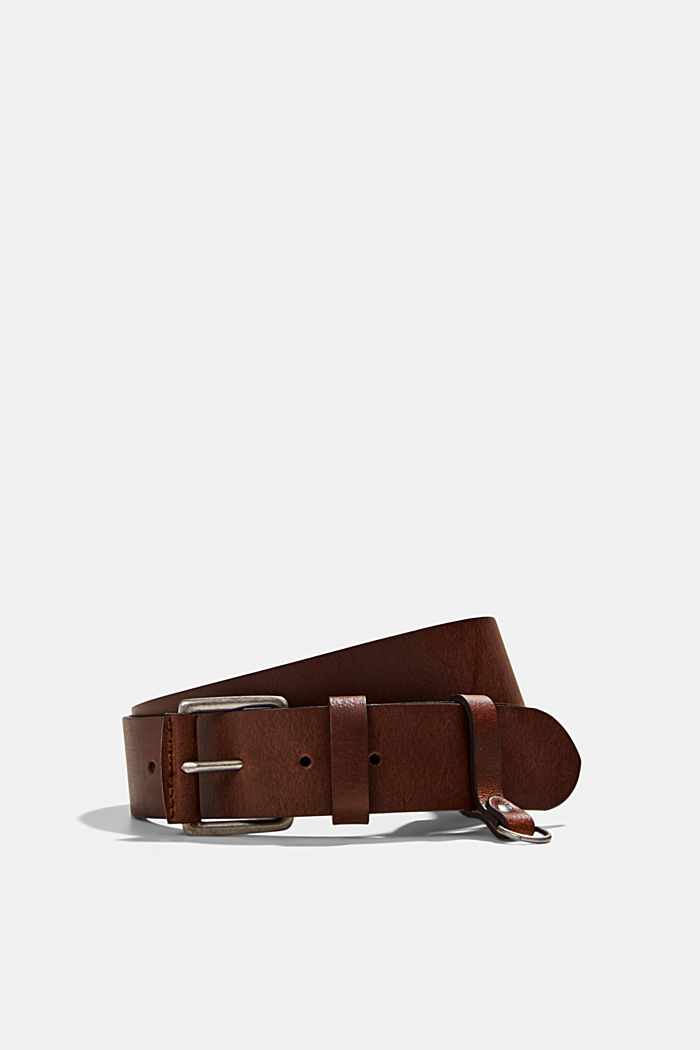 Belt made of chrome-free tanned leather