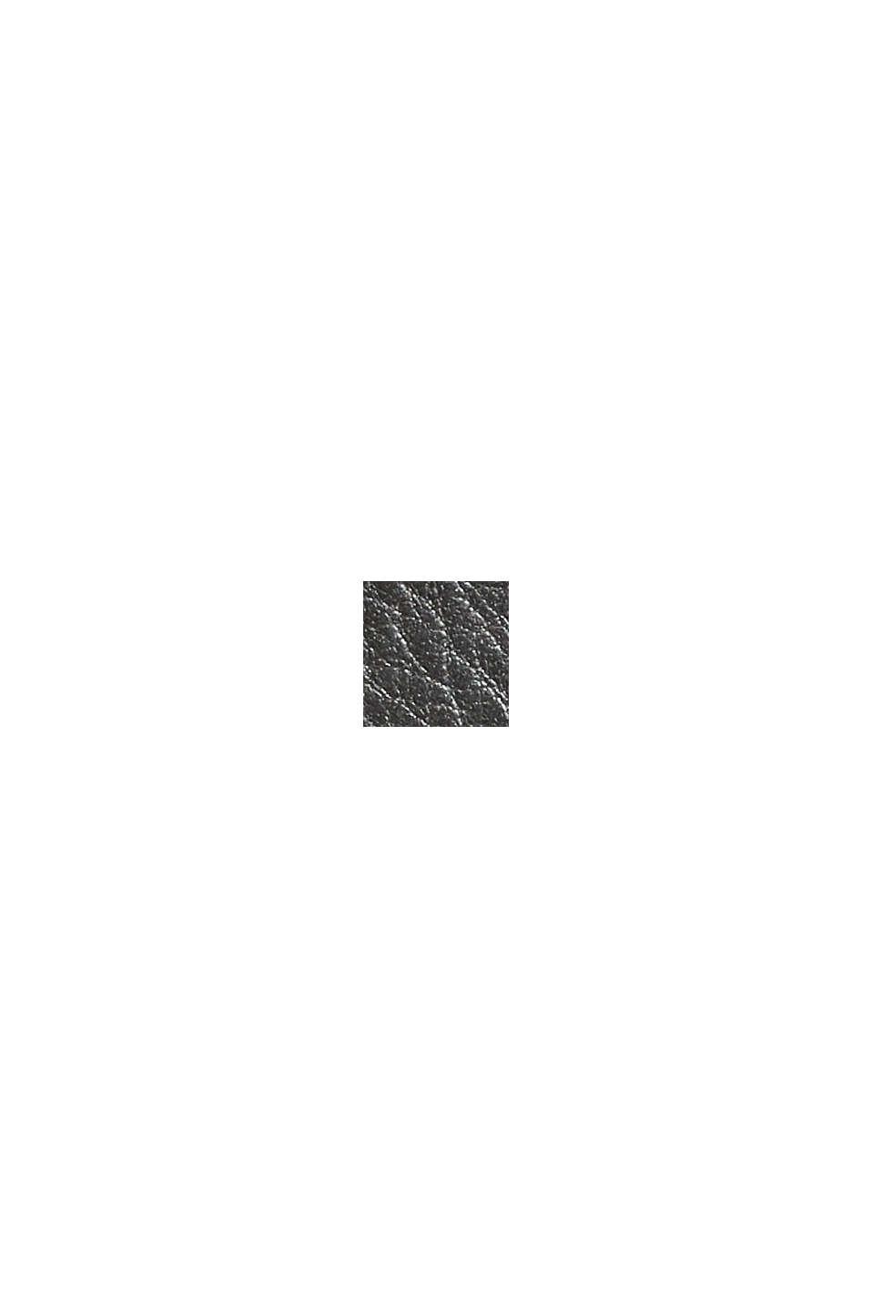 Geldbörse aus 100% Leder, chromfrei gegerbt, BLACK, swatch