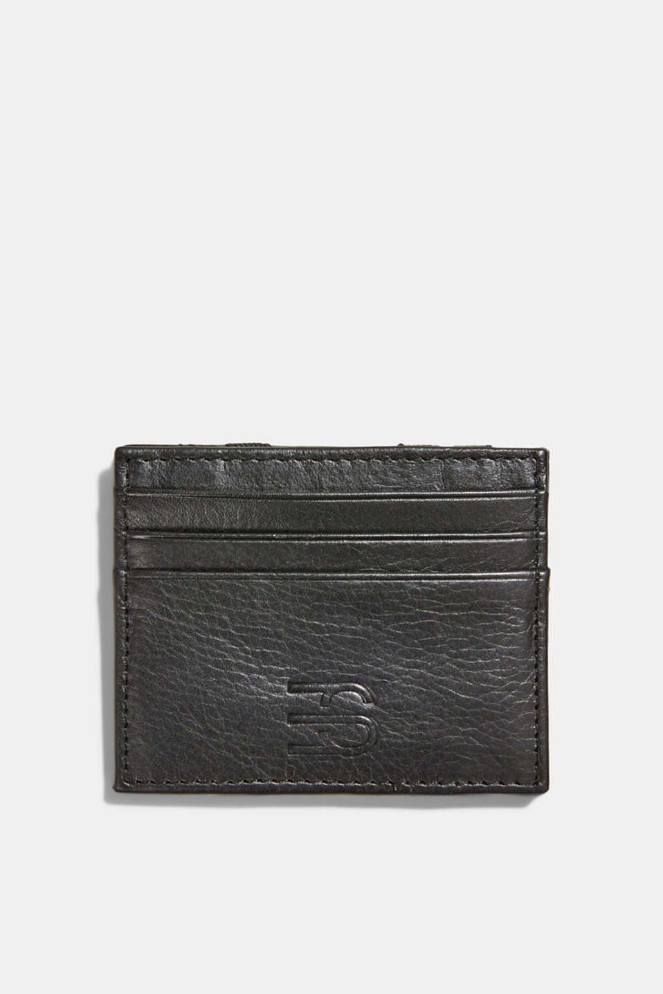 Esprit - Card holder made of 100% chrome-free tanned leather