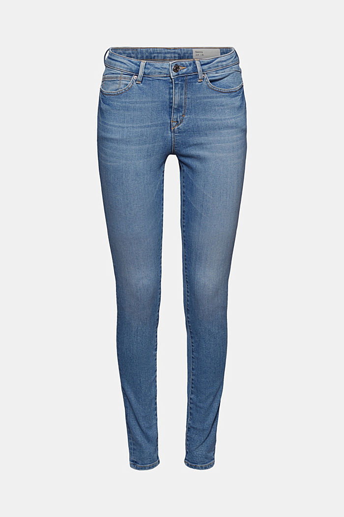 Stretch-Jeans mit Organic Cotton