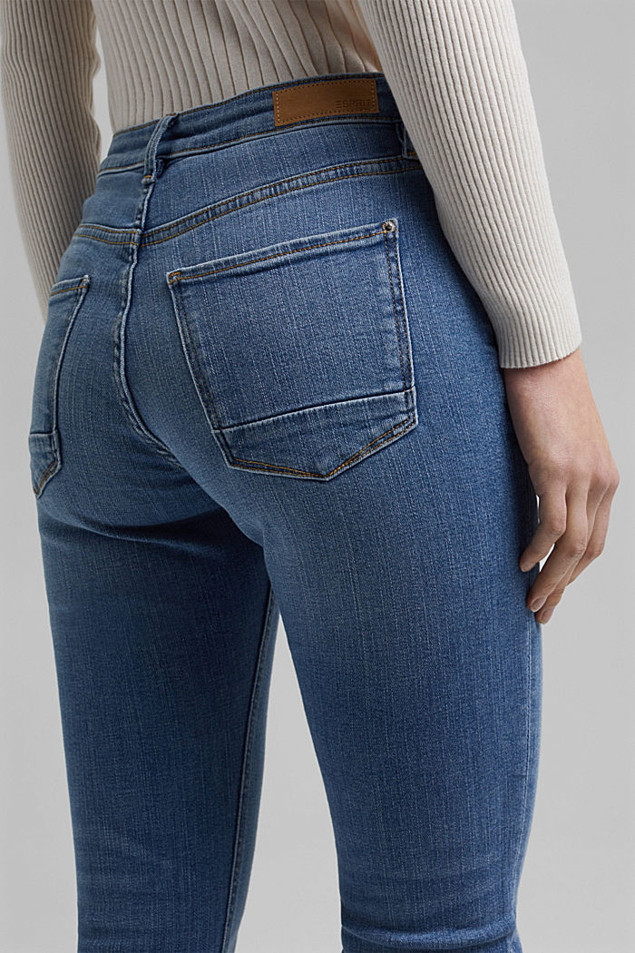 Stretch jeans made of organic cotton