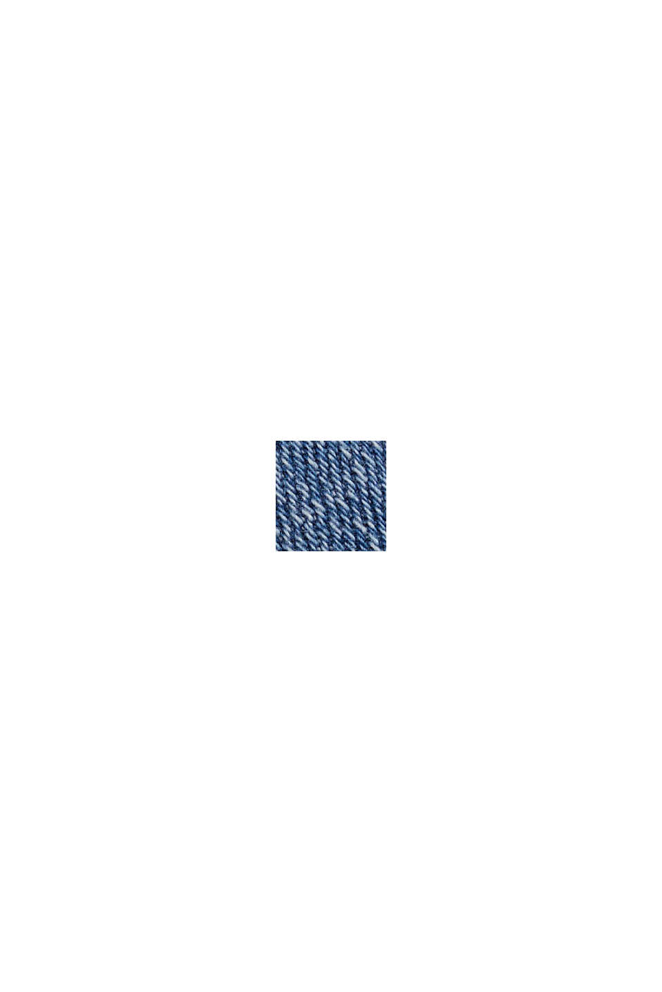 Stretch-Denim aus Organic Cotton, BLUE LIGHT WASHED, swatch