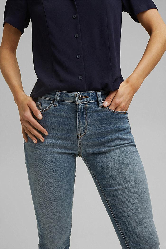 Jogger-Jeans mit Biobaumwolle, BLUE LIGHT WASHED, detail image number 2