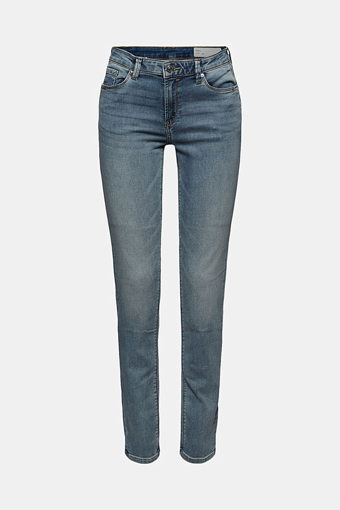 Jogger-Jeans mit Biobaumwolle
