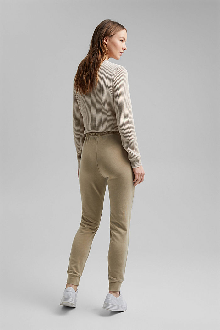 Tracksuit bottoms in 100% organic cotton, SAND, detail image number 3