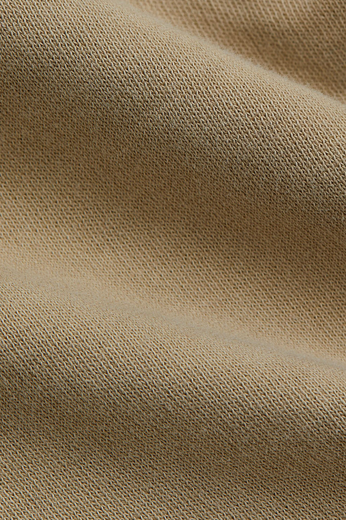Tracksuit bottoms in 100% organic cotton, SAND, detail image number 4