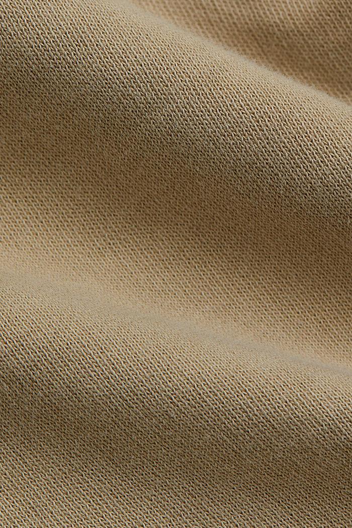 Sweat-Hose aus 100% Organic Cotton, SAND, detail image number 4