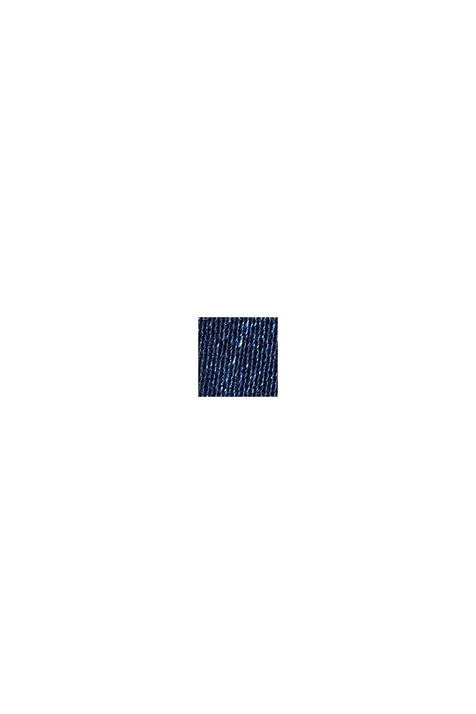 Stretchjeans van biologisch katoen, BLUE DARK WASHED, swatch