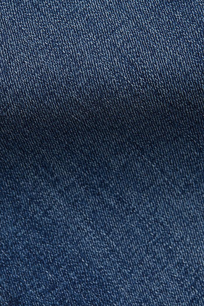 Stretchjeans met garment-washed effecten, BLUE MEDIUM WASHED, detail image number 4