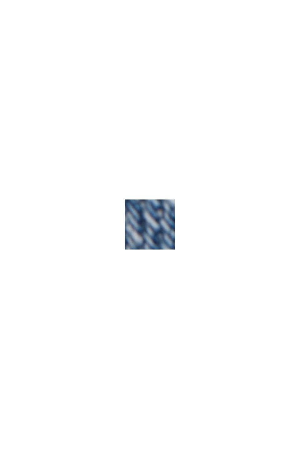 Vaqueros cortos de algodón ecológico, BLUE LIGHT WASHED, swatch