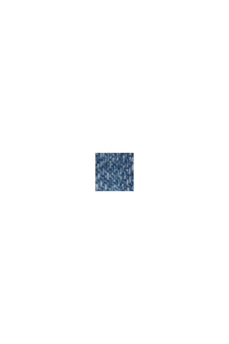 Jeans con cintura da annodare e cotone biologico, BLUE LIGHT WASHED, swatch