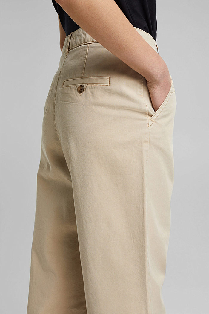 Culottes made of 100% Pima cotton, BEIGE, detail image number 2