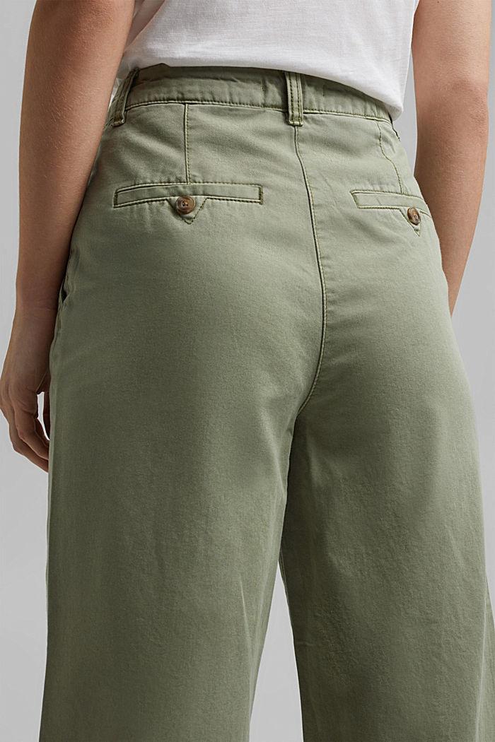 Culottes made of 100% Pima cotton, LIGHT KHAKI, detail image number 2
