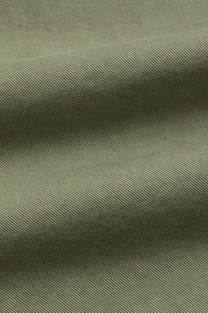 Culottes made of 100% Pima cotton, LIGHT KHAKI, detail image number 4