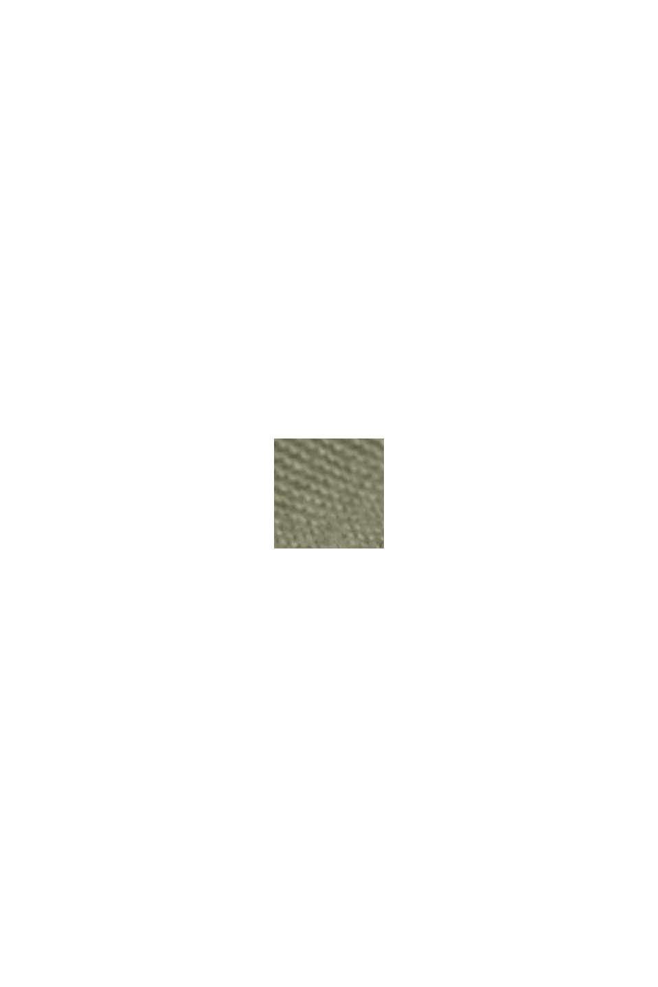 Culottebyxa i 100% pimabomull, LIGHT KHAKI, swatch
