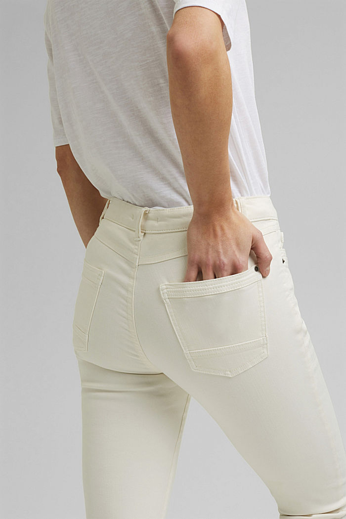 Washed-effect stretch trousers, ICE, detail image number 5