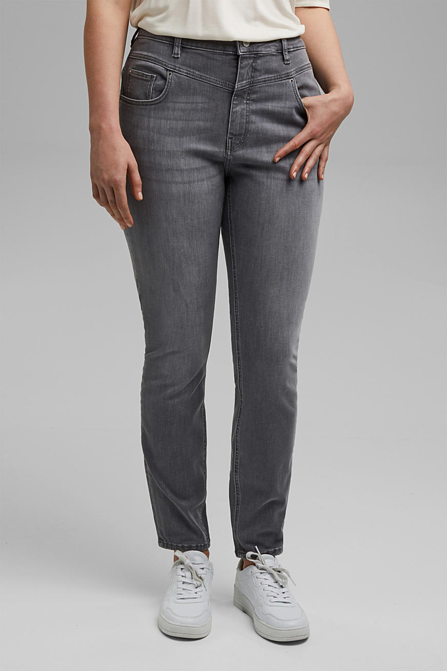 CURVY High rise-jeans