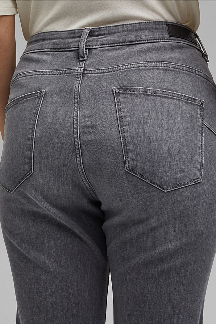 CURVY High-Rise-Jeans, GREY MEDIUM WASHED, detail image number 2