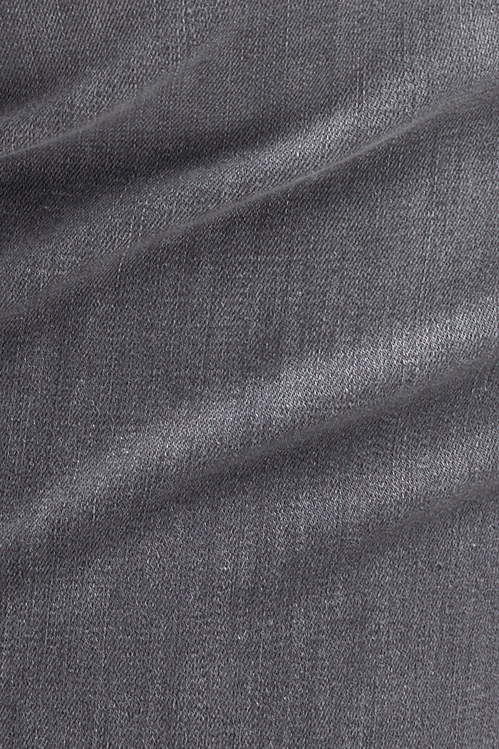 CURVY High-Rise-Jeans, GREY MEDIUM WASHED, detail image number 4
