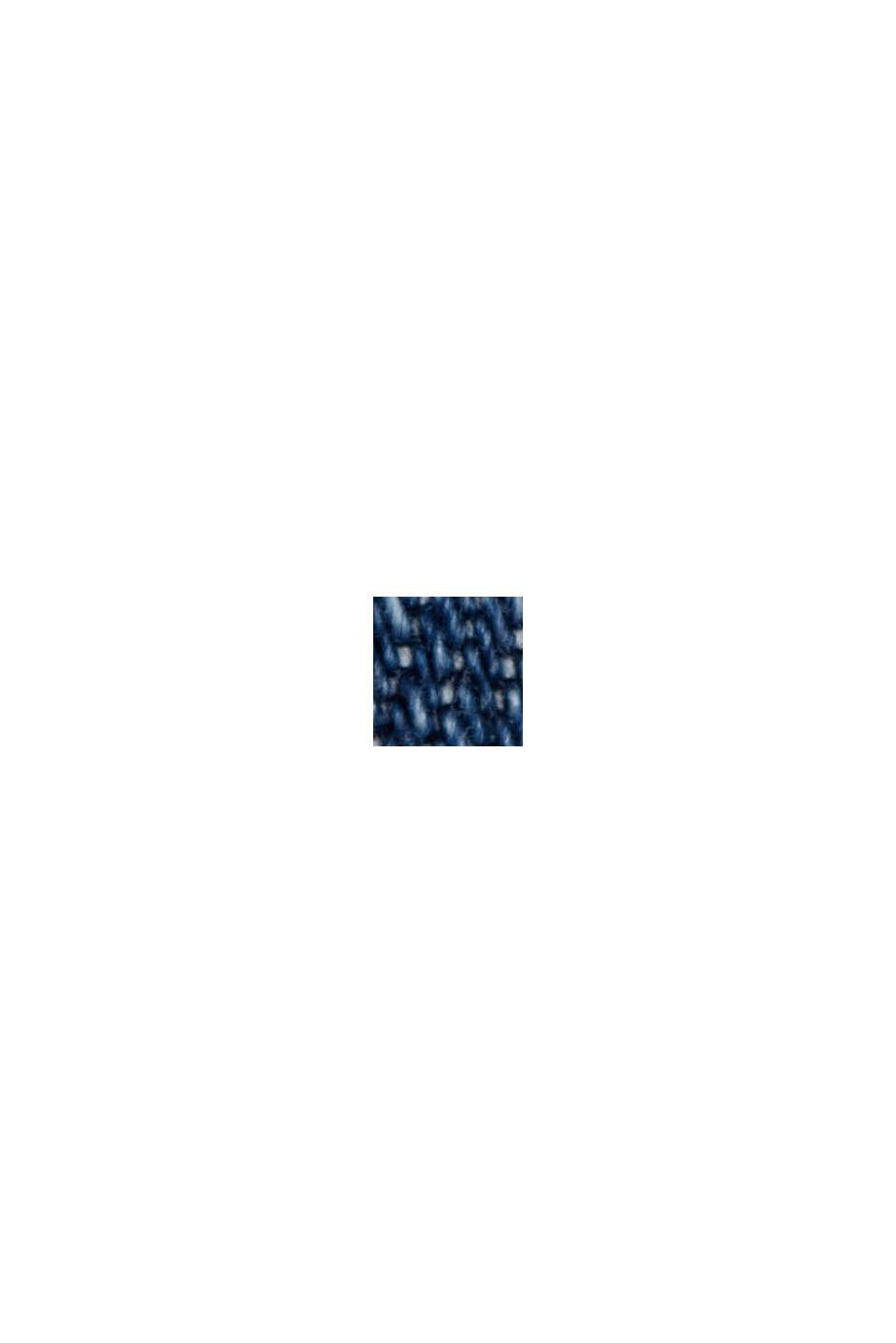 Denim-Culotte mit Organic Cotton, BLUE DARK WASHED, swatch
