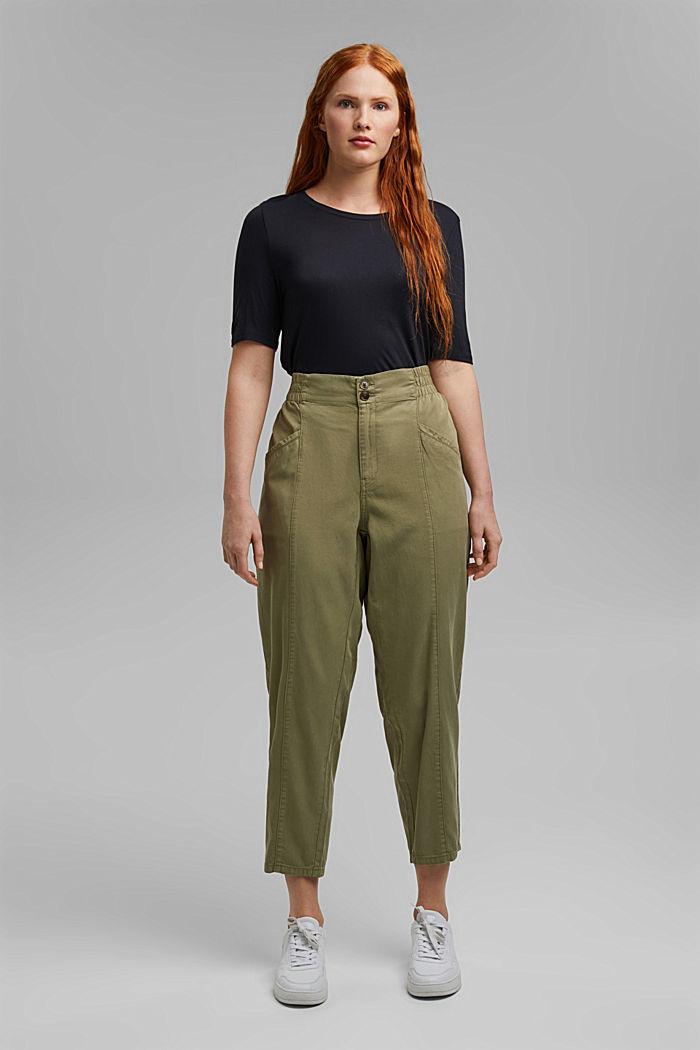 Pantalon CURVY en lyocell et coton biologique
