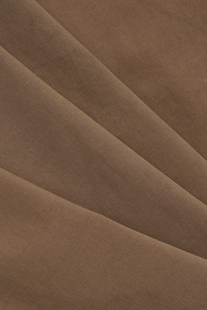 Cargo trousers made of pima cotton, TAUPE, detail image number 4