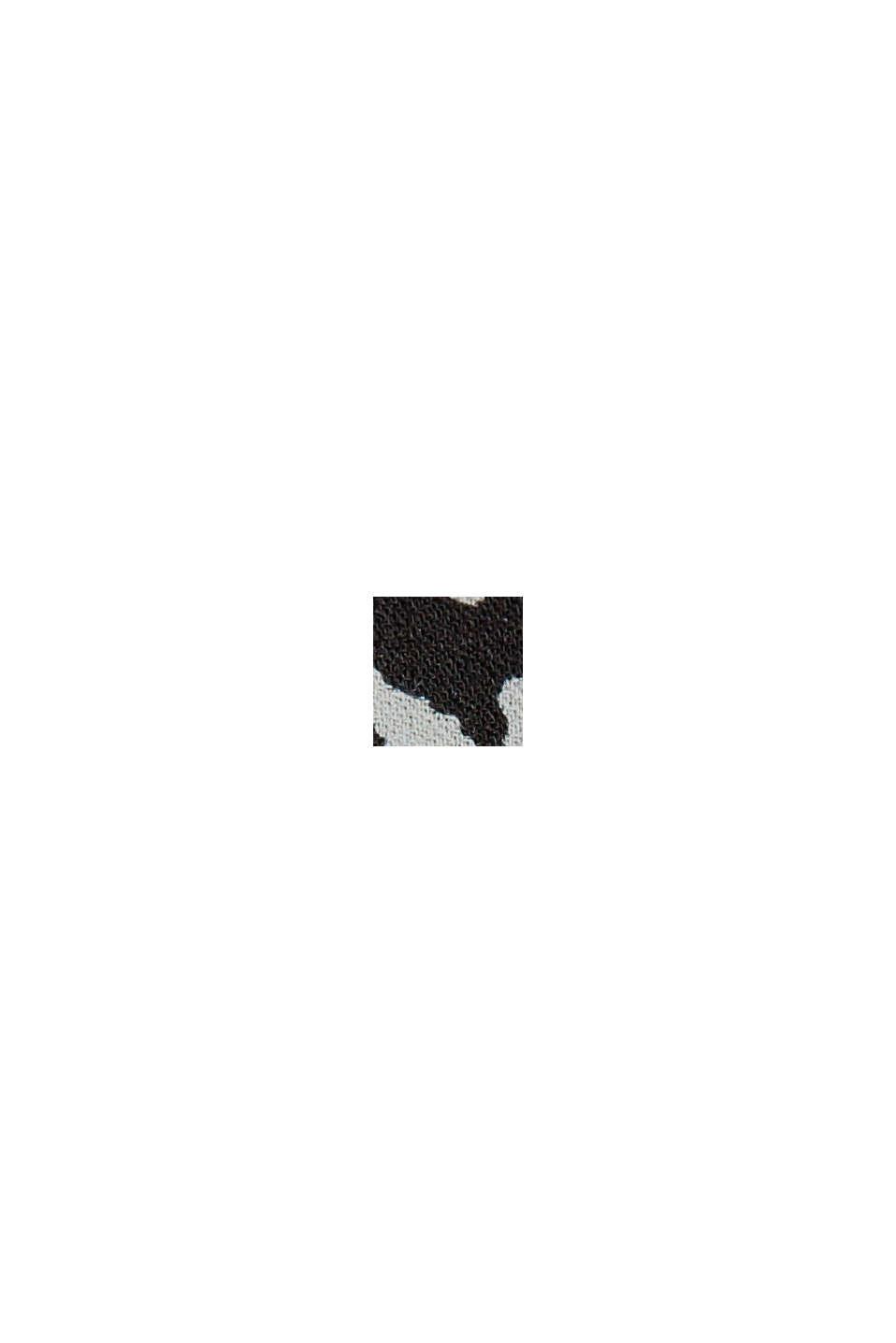 Blomstret midi-nederdel af LENZING™ ECOVERO™, BLACK, swatch