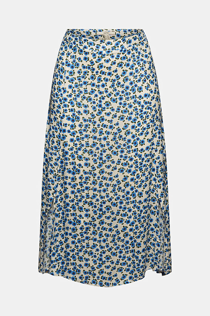Floral midi skirt made of LENZING™ ECOVERO™