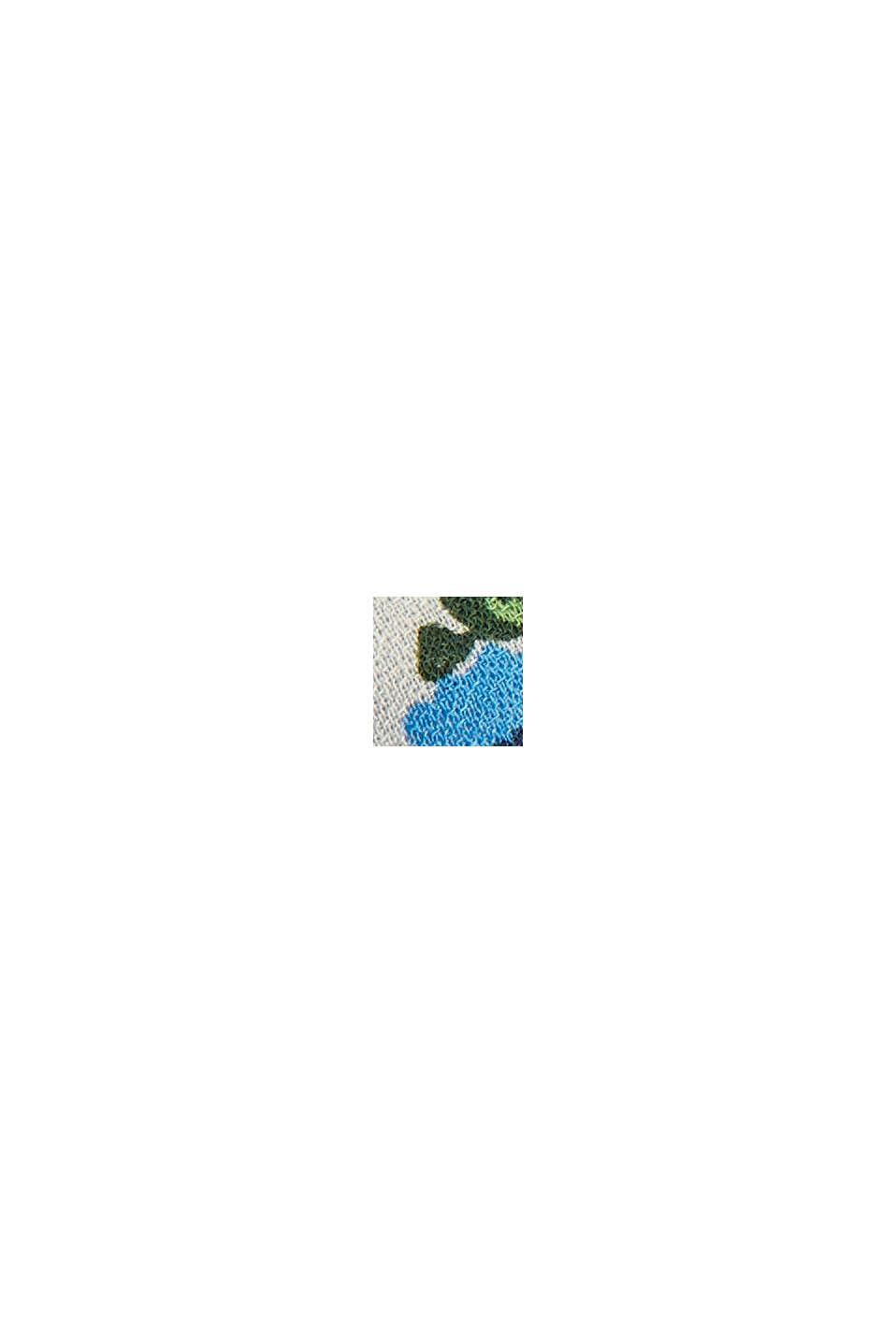 Blomstret midi-nederdel af LENZING™ ECOVERO™, OFF WHITE, swatch