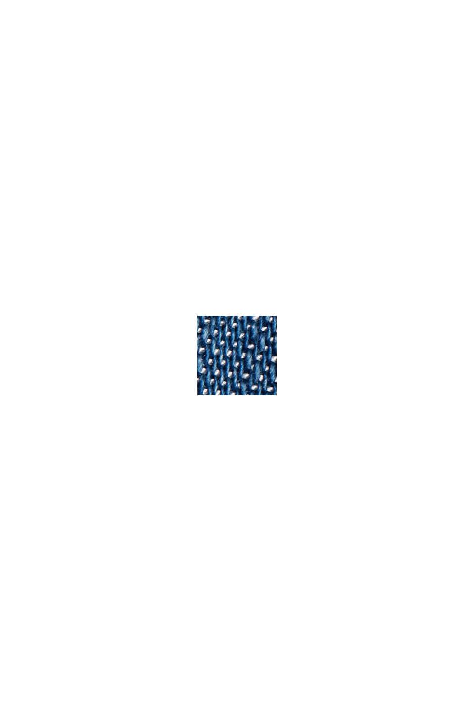 I TENCEL™: Nederdel i denim-look, BLUE MEDIUM WASHED, swatch