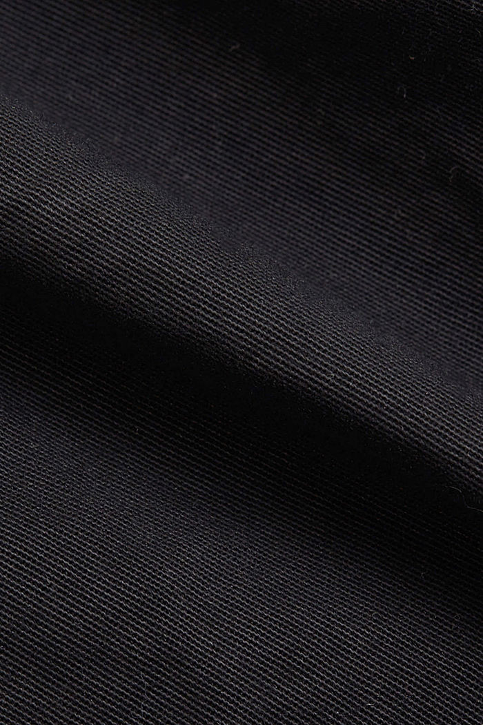 Utility skirt with a paperbag waistband, BLACK, detail image number 4