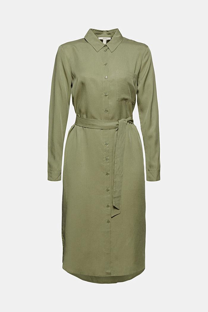 Hemdblusenkleid aus Lyocell TENCEL™