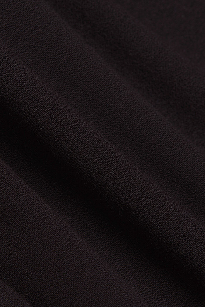 Jersey dress made of LENZING™ ECOVERO™, BLACK, detail image number 5