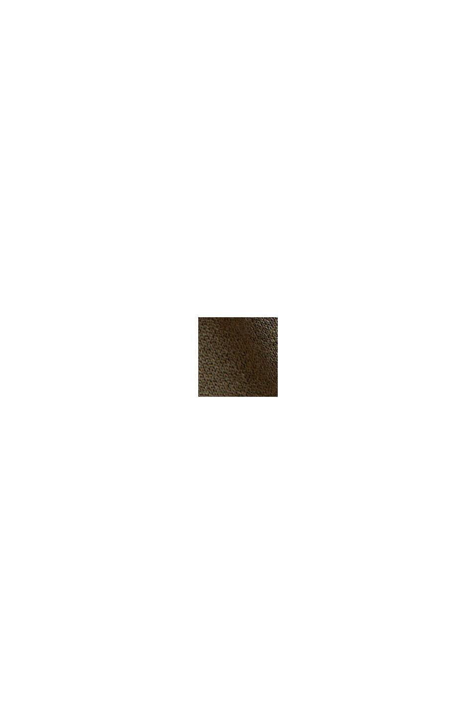 Jerseykjole af LENZING™ ECOVERO™, KHAKI GREEN, swatch