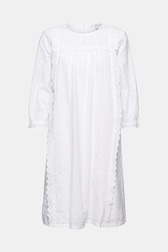 Robe à broderie anglaise, 100% coton biologique
