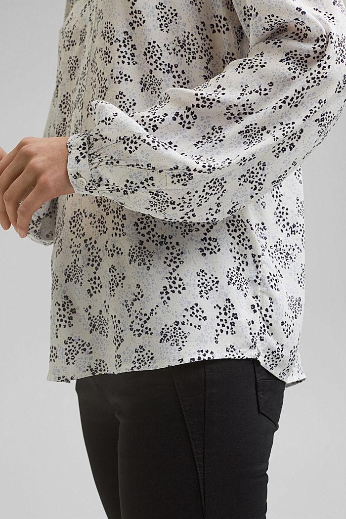 Blusa cerrada de LENZING™ ECOVERO™, OFF WHITE, detail image number 2