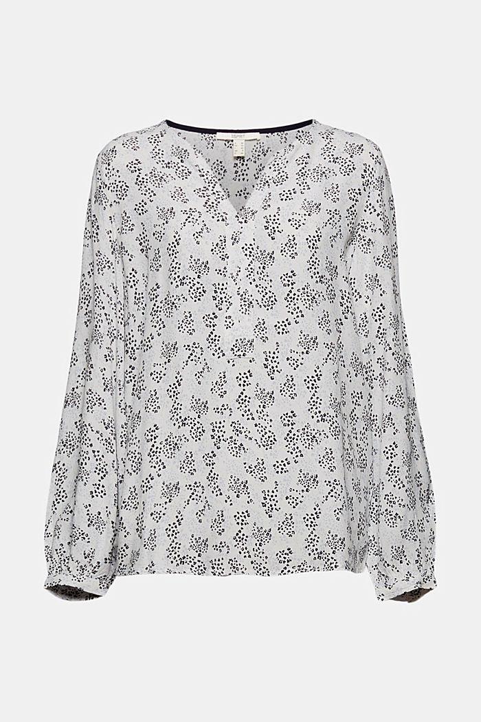 Schlupf-Bluse aus LENZING™ ECOVERO™