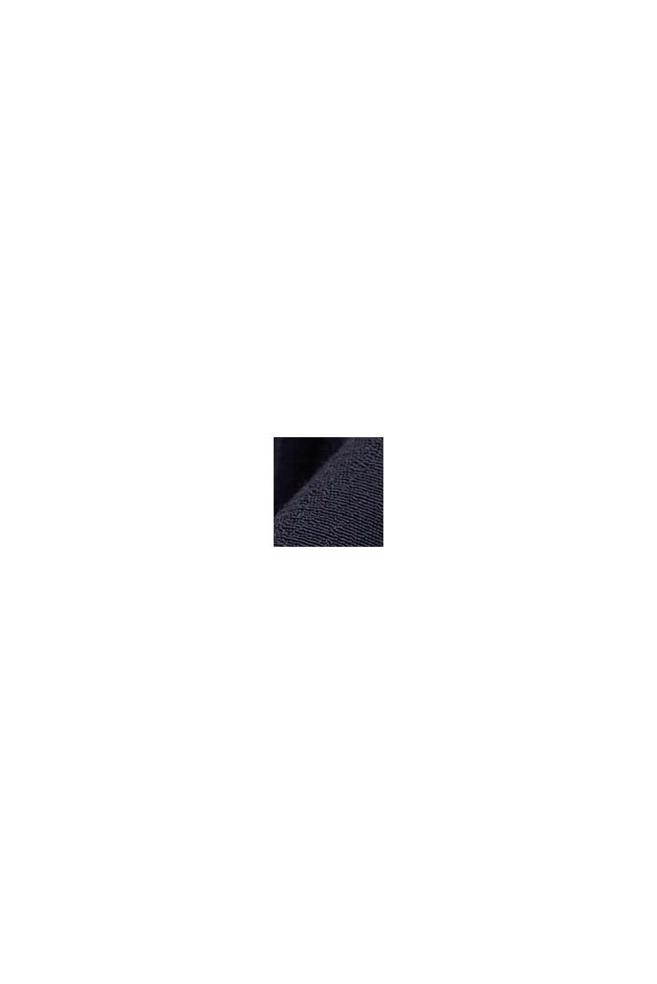 Chemisier-tunique en fibre LENZING™ ECOVERO™, NAVY, swatch