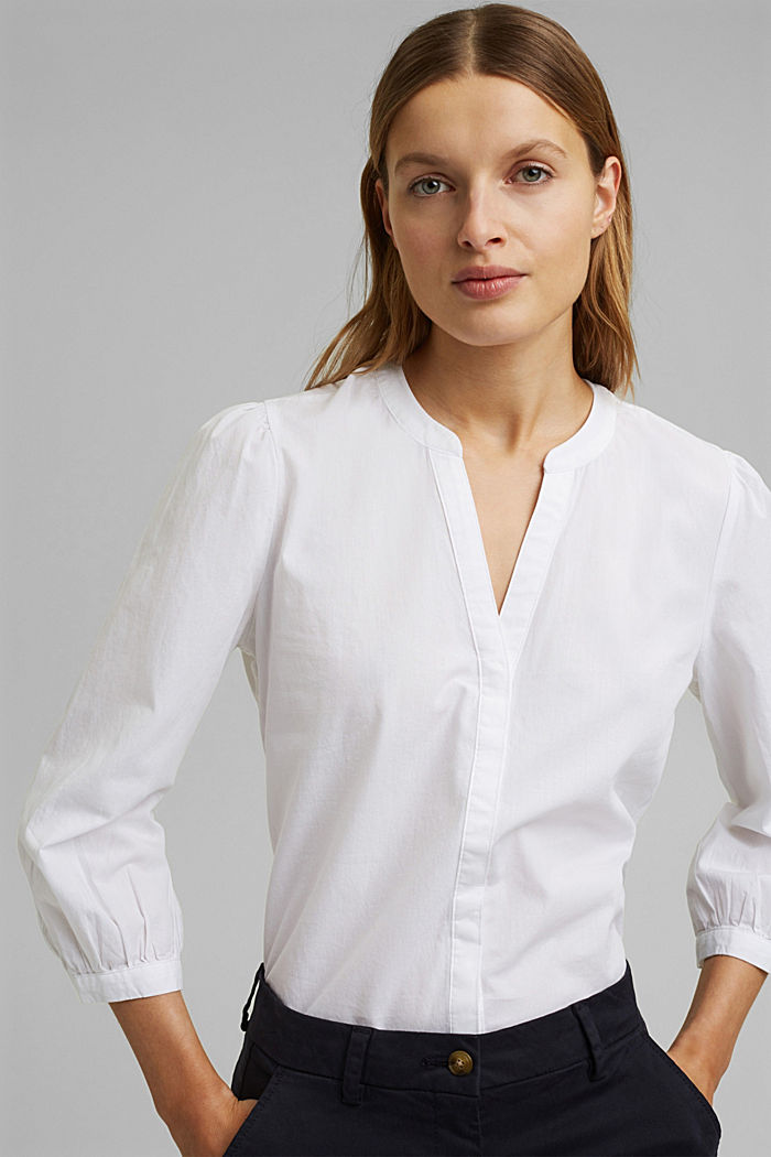100% organic cotton blouse