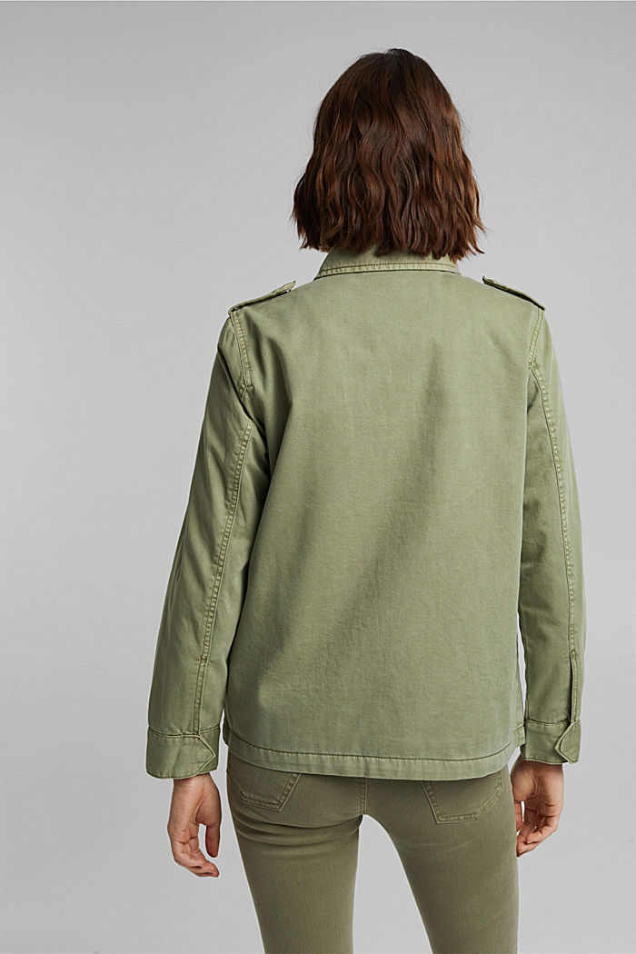 Light jacket in a utility look, LIGHT KHAKI, detail image number 3