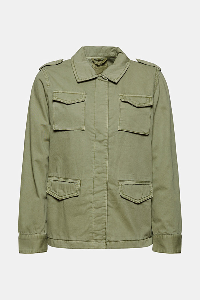 Light jacket in a utility look, LIGHT KHAKI, detail image number 6