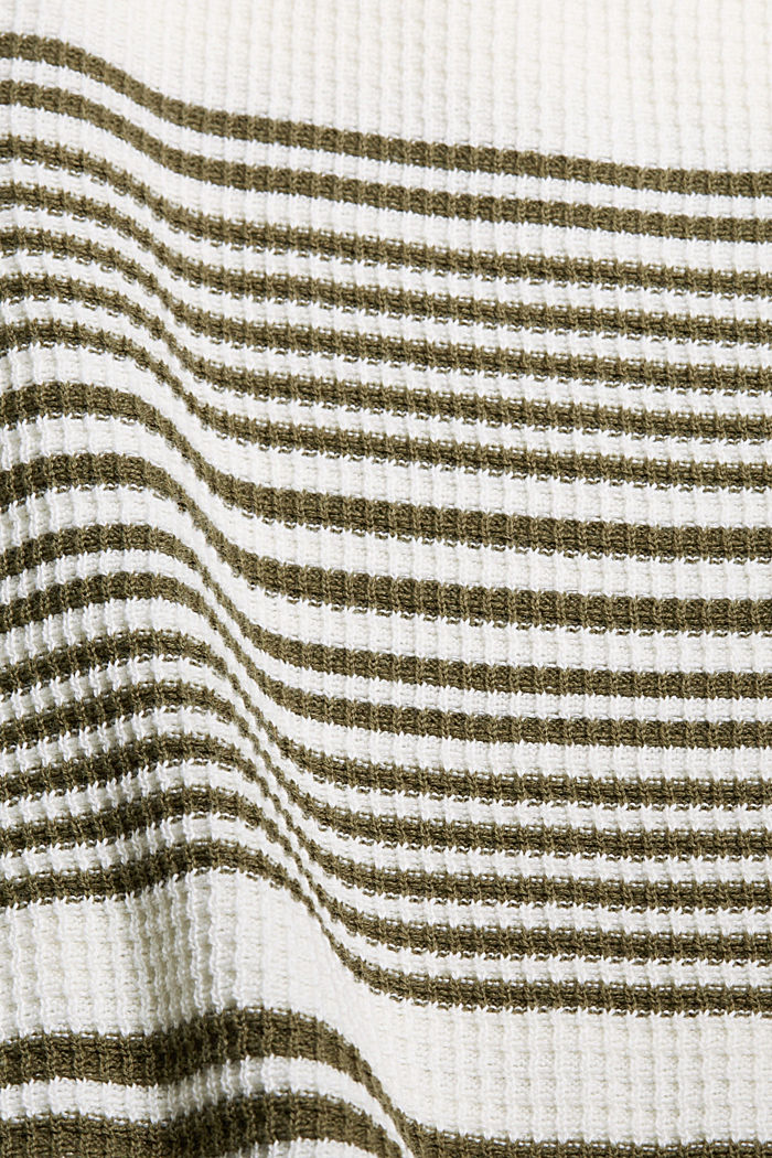 Textured jumper containing organic cotton, OFF WHITE, detail image number 4