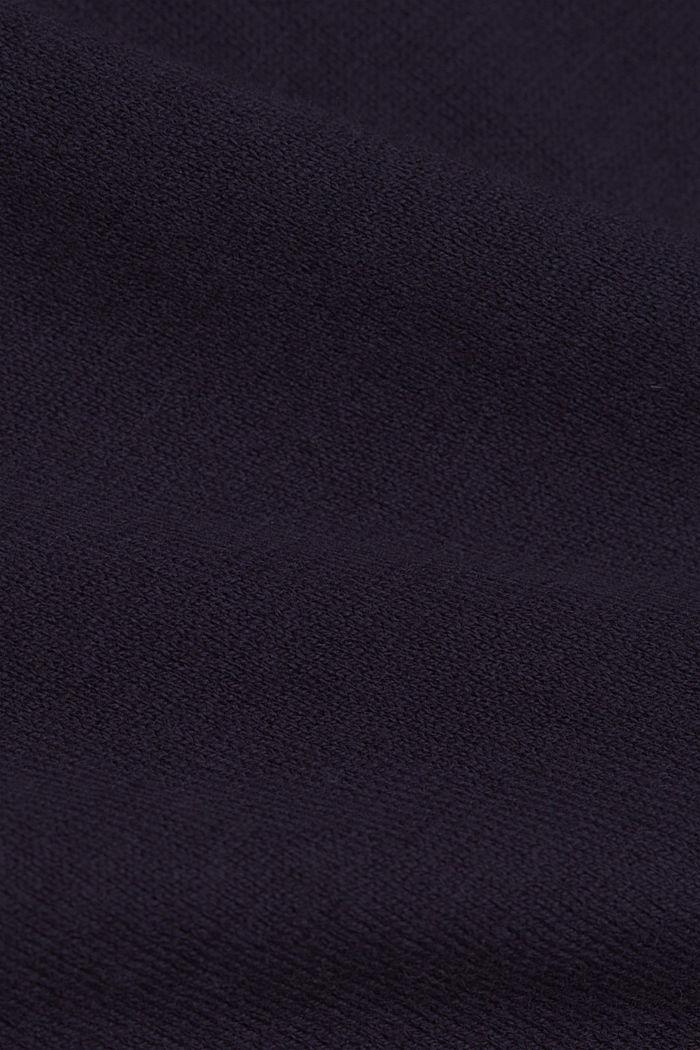 Met zijde: trui met borstzak, NAVY, detail image number 4